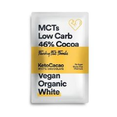Low Carb chocolade | Keto Cacao | Chocolade Tablet | Wit | Dieetwebshop.nl