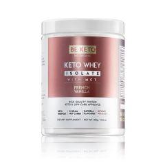 Be Keto | KETO Whey French Vanilla + MCT | 300 gram | Koolhydraatarm dieet