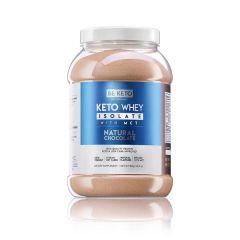 Be Keto | KETO Whey Natural Chocolate + MCT | 800 gram | Koolhydraatarm dieet