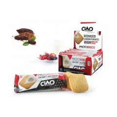 CiaoCarb | protobisco cacao | eiwitrijke koek