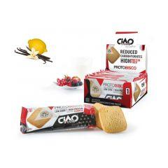 Protobisco Vanille Citroen | Proteine Koek | Ciao Carb
