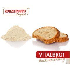 Eiwitrijk Brood | Konzelmann's | Broodmix | Low Carb vitalbrot met L-Carnitine | Dieetwebshop.nl