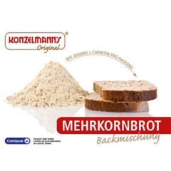 Eiwitrijk Brood | Konzelmann's | Broodmix | Mehrkornbrotmischung | Dieetwebshop.nl