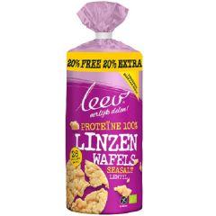 Eiwitrijk | Leev Bio | linzen wafels proteine gv | Dieetwebshop.nl