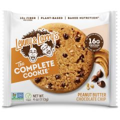 Lenny & Larry's | Complete Cookie | Peanut Butter Chocolate Chip | Vezelrijk