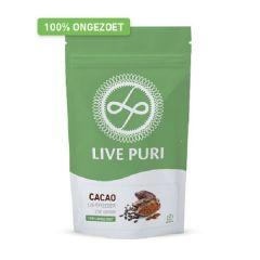 Live Puri | Cacao Ongezoet | Eiwitpoeder  | Eiwitdieet | Dieetwebshop.nl
