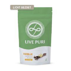 Live Puri | Vanille Licht gezoet | Eiwitpoeder |  Eiwitrijk| Dieetwebshop