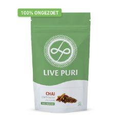 Proteïnerijk | Live Puri | Eiwitpoeder Chai | Ongezoet | Dieetwebshop.nl