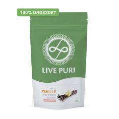 Eiwitrijk | Live Puri | Vegan Eiwitpoeder | Vanille ongezoet | Dieetwebshop.nl