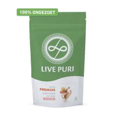 Eiwitrijk | Live Puri | Vegan Eiwitpoeder | Pindakaas ongezoet | Dieetwebshop.nl