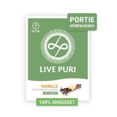 Eiwitrijk | Live  Puri | Eiwitpoeder | Vanille Ongezoet | Portieverpakking | Dieetwebshop.nl