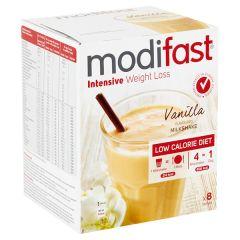Modifast Intensive | Milkshake Vanille | caloriearm | Dieetwebshop.nl