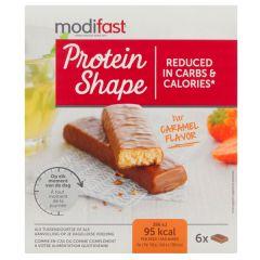 Modifast | Protein Shape Bar Caramel | caloriearm | Dieetwebshop.nl