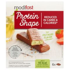 Modifast | Protein Shape Bar | Pistache | Low Carb | Dieetwebshop.nl