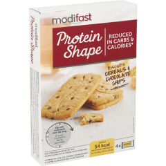 Modifast | Protein Shape Biscuit Cereal Chocolade & Chip | Low Carb | Dieetwebshop.nl