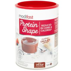 Modifast | Protein Shape Pudding Chocolade | Low Carb | Dieetwebshop.nl