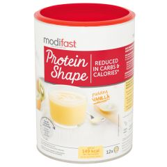 Modifast | Protein Shape Pudding | Vanille | caloriearm | Dieetwebshop.nl