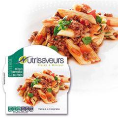 Nutrisaveurs | Control | Penne Bolognese | Caloriearm | Dieetwebshop.nl