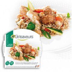 Caloriearm | Nutrisaveurs | Control | Couscous Bulgur Rundvlees Kip | Dieetwebshop.nl