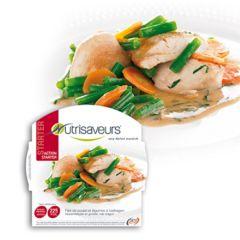 Kipfilet met groenten en dragonsaus | Nutrivaseurs starter| koolhydraatarme warme maaltijd | dieetwebshop.nl
