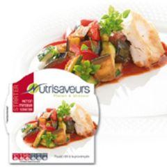 Plakjes kip met ratatouille | Nutrivaseurs starter | suikervrije warme maaltijd | dieetwebshop.nl
