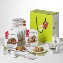 Nutrisaveurs | compleet week afslankpakket starter | koolhydraatarm dieet