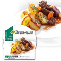 Nutrivaseurs control| Beef bourguignon| koolhydraatarme warme maaltijd| dieetwebshop.nl