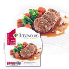 Eiwitrijke Maaltijd | Nutrisaveurs | Starter | Rundmedaillon En Groenten In Saus | Dieetwebshop.nl