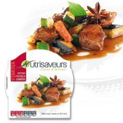 Koolhydraatarme warme maaltijd | Nutrivaseurs starter | Tajine met een oosterse smaak | dieetwebshop.nl