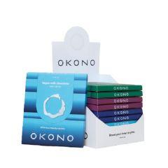OKONO | Vegan | Variety Chocolate | 10 Pack | Suikervrij