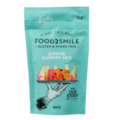 Food2Smile | Gimme Gummy Mix | Sugar Free