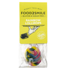 Food2Smile | Rainbow Lollipops | Caloriearm