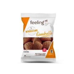 Eiwitrijke Quadrelli cacao | Feeling OK Quadrelli cacao| Eiwitrijk Dieet | Protiplan