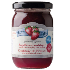 Caloriearme jam | Rabeko | Aardbeienjam | extra light | Dieetwebshop.nl