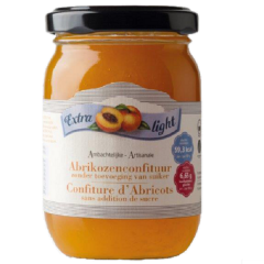 Sukervrije jam | Rabeko | Abrikozenjam | extra light | Dieetwebshop.nl