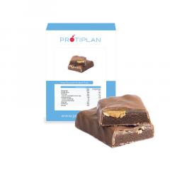 Proteïne Reep Chocolade Karamel Pinda | Protiplan
