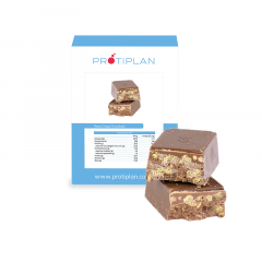 Proteine Reep Crispy Chocolade | Protiplan