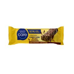 We Care | Proteïne Reep | Double Chocolate | Dieetwebshop.nl