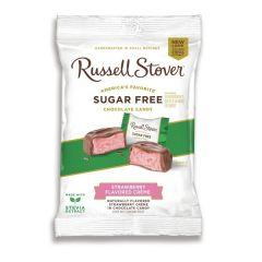 Russel Stover   Strawberry Flavored Creme   Suikervrij   Dieetwebshop