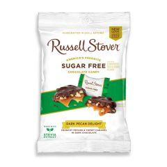 Russel Stover   Dark pecan Delight   Suikervrij   Dieetwebshop