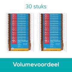Scandinavian Bran crispbread | TARWEZEMELEN Crackers | Doos | Low Carb | Dieetwebshop.nl