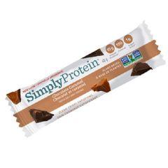 Simply Protein |  Chocolade Caramel | Eiwitrijk | Dieetwebshop.nl