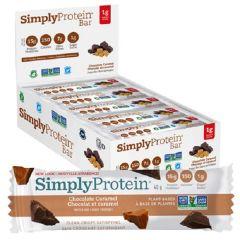 Simply Protein |  Chocolade Caramel Doos | Eiwitrijk | Dieetwebshop.nl
