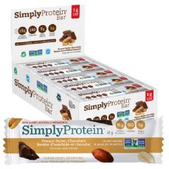 Simply Protein | Peanut Butter Chocolade | Doos | Eiwitrijk | Dieetwebshop.nl