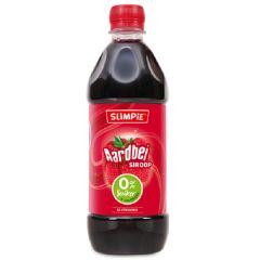 Suikervrij | Slimpie | siroop Aardbei | Dieetwebshop.nl