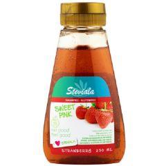 Sugar Free | Steviala | Sweet Pink (suikervrije aardbeien stroop) | Dieetwebshop.nl