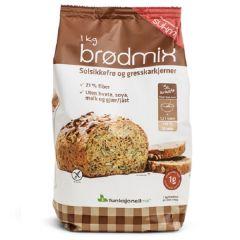 Caloriearm | Sukrin | Broodmix | Fiberbrød | Dieetwebshop.nl