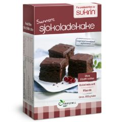 Sukrin | Chocoladecake mix (Sjokoladekake) | Sugar Reduced| Dieetwebshop.nl