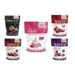 Caloriearme Suikervervanger | Sukrin | Suiker Vervang Pakket | Dieetwebshop