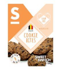 Suikervrij | Sweet Switch | Cookie bites Choco Chip | Dieetwebshop.nl